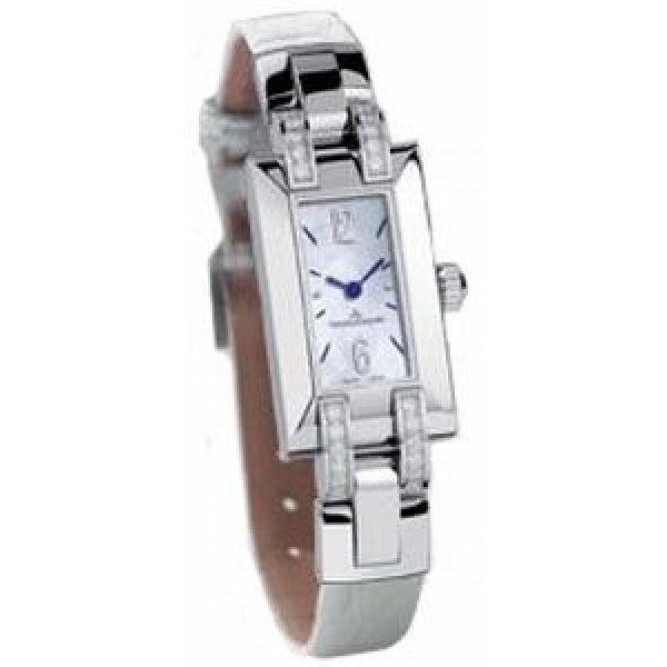Jaeger LeCoultre watches Jaeger LeCoultre Ideale (Steel / MOP / Diaminds / Leather)