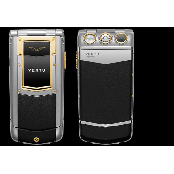 Vertu Constellation Ayxta Gold Steel Ceramic Black