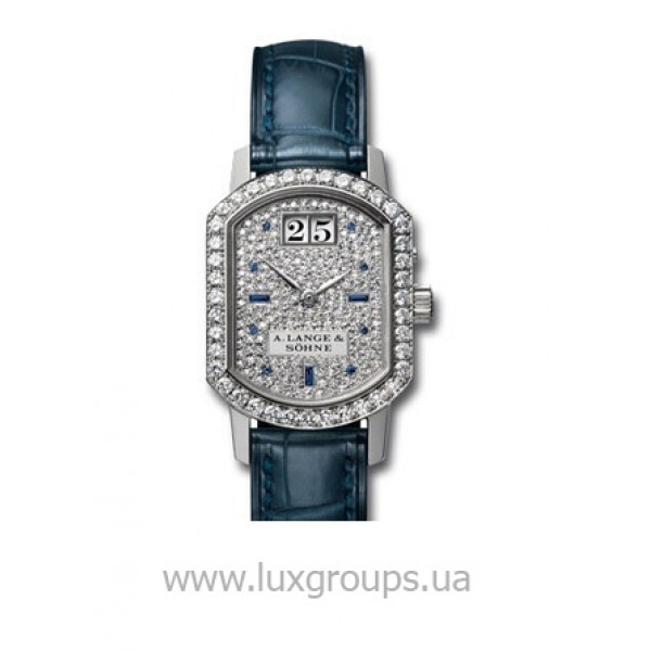 A.Lange and Söhne watches Arkade (WG-Diamonds / Pave / Leather)