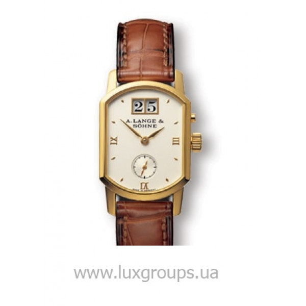 A.Lange and Söhne watches Arkade (18kt YG / Silver / Leather)
