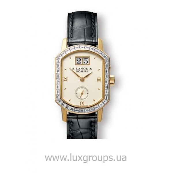 A.Lange and Söhne watches Arkade (18kt YG / Silver / Baguettes)