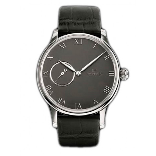 Jaquet Droz watches Grande Heure Minute Medium Email Black