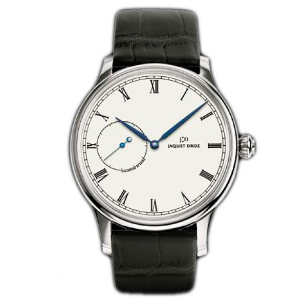 Jaquet Droz watches Grande Heure Minute Medium Email White