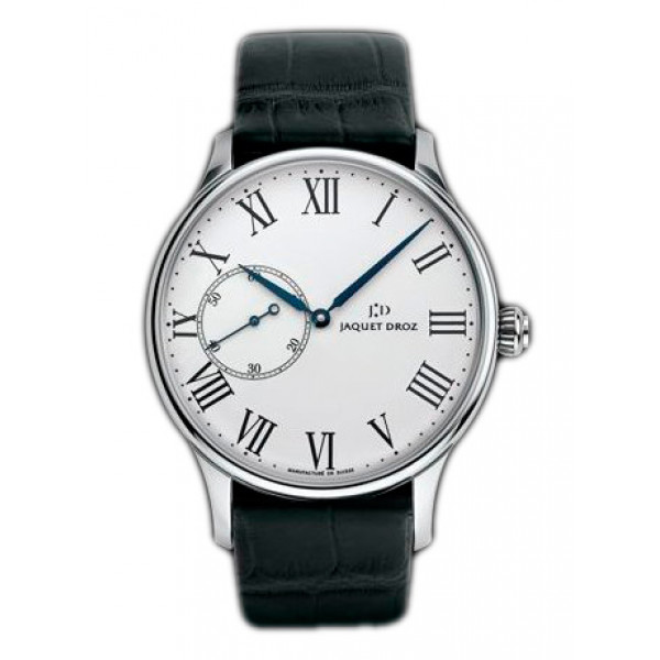Jaquet Droz watches Grande Heure Minute Email White Limited Edition 88