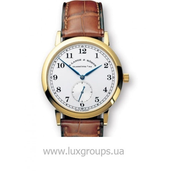 A.Lange and Söhne watches 1815 (18kt YG / Silver / Leather)