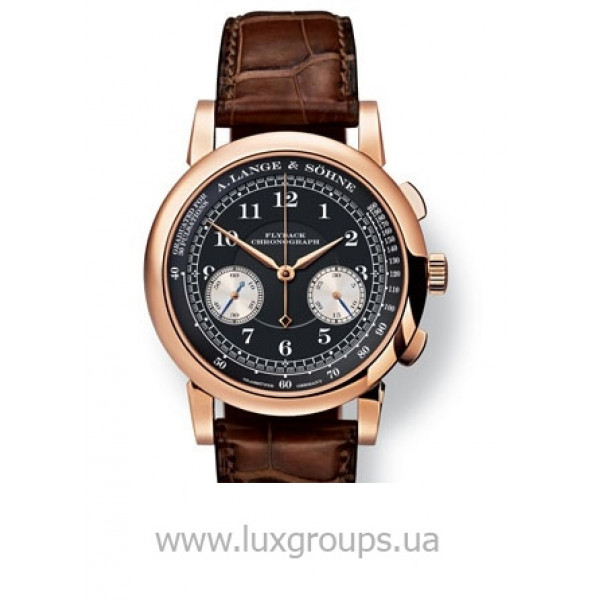 A.Lange and Söhne watches 1815 Chronograph (18kt Pink Gold / Black)