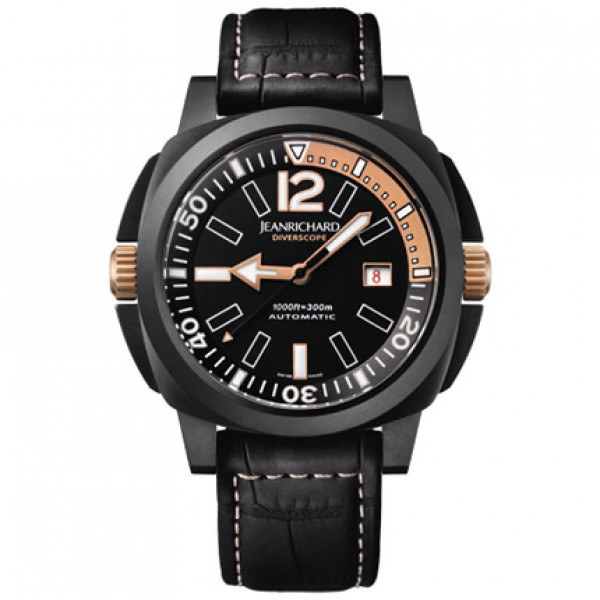 JeanRichard watches Diverscope JR1000 Goldwaters