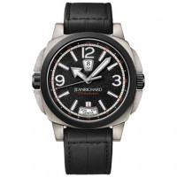 JeanRichard watches 2 Timezones Zirconium