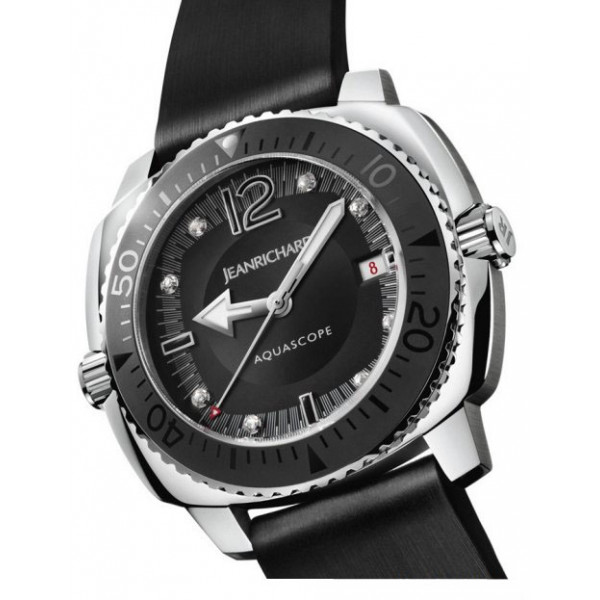 JeanRichard watches Aquascope Lady Night Diver