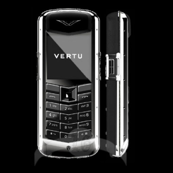 Vertu Constellation White Gold Black Diamonds Trim