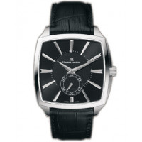 Maurice Lacroix watches Miros Coussin Mcanique (SS / Black / Leather)