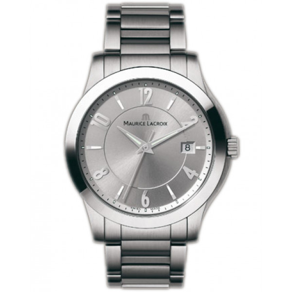 Maurice Lacroix watches Miros Herren (SS / Silver / SS)