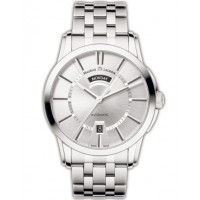 Maurice Lacroix watches Pontos Day/Date (SS / Silver / SS)