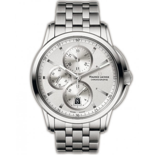 Maurice Lacroix watches Pontos Chronographe (SS / Silver / SS)