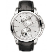 Maurice Lacroix watches Pontos Chronographe (SS / Silver / Leather)