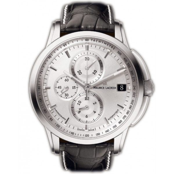 Maurice Lacroix watches Pontos Chronographe Valgranges (SS / Silver)