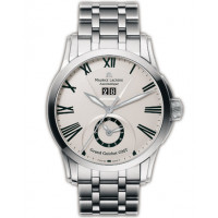 Maurice Lacroix watches Pontos Grand Guichet GMT (SS / White / SS)