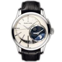 Maurice Lacroix watches Pontos D?centrique GMT (SS / Silver)