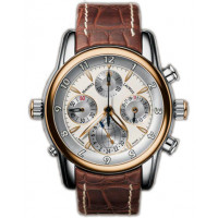 Maurice Lacroix watches Chrono Globe (RG_SS / White / Leather)