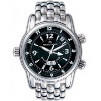 Maurice Lacroix watches Reveil Globe (SS / Black / SS)