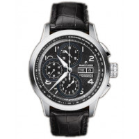 Maurice Lacroix watches Masterchrono (SS / Black / Leather)