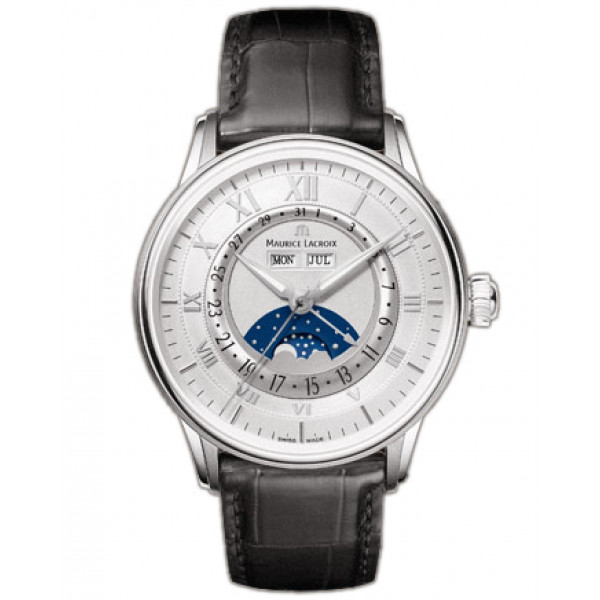 Maurice Lacroix watches Phase de Lune (SS / Silver)