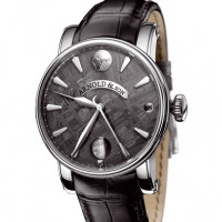 Arnold & Son watches True Moon Meteorite steel