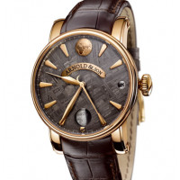 Arnold & Son watches True Moon Meteorite pink gold
