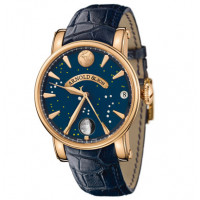 Arnold & Son watches True Moon rose gold blue dial
