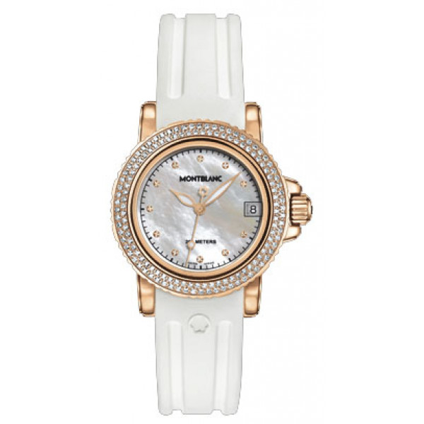 Montblanc watches Sport Red Gold Lady
