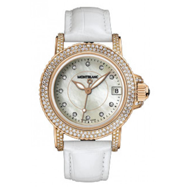 Montblanc watches Sport Sport Lady Red Gold Diamonds