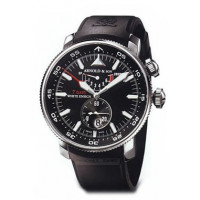 Arnold & Son watches White Ensign 7 Days (SS / Black / Rubber)