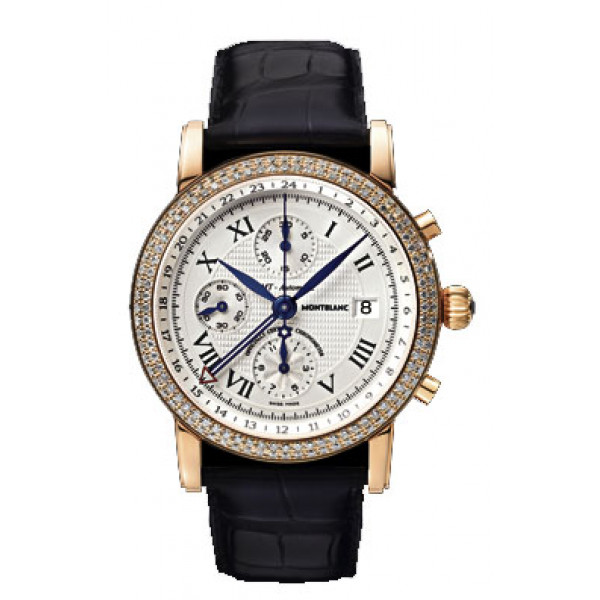 Montblanc watches Star Gold Chronograph GMT Automatic