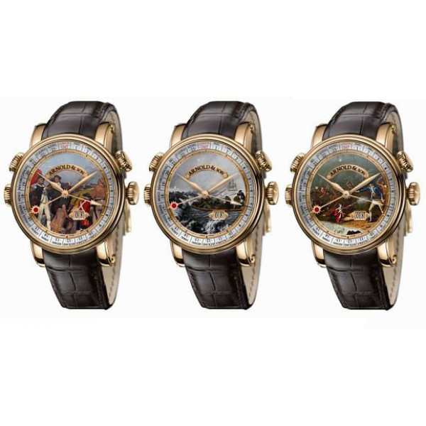 Arnold & Son watches James Cook Limited Edition Set Of Watches