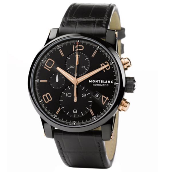 Montblanc watches TimeWalker Dual Carbon Chronograph
