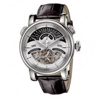 Arnold & Son watches Grand Tourbillon Perpetual white gold silver dial Limited Edition 10