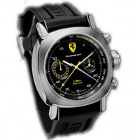 Officine Panerai watches Ferrari 1/8th Seconds Spesial Edition (SS / Black / Rubber)