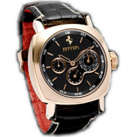 Officine Panerai watches Ferrari Perpetual Calender Special Edition (RG / Black / Leather)