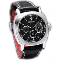 Officine Panerai watches Ferrari Perpetual Calender Special Edition (SS / Black / Leather)