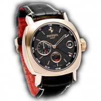 Officine Panerai watches Ferrari 8 Days GMT Special Edition (RG / Black / Leather)