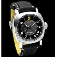 Officine Panerai watches Ferrari Scuderia GMT (SS / Black / Leather)