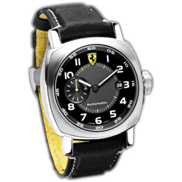 Officine Panerai watches Ferrari Scuderia Automatic (SS / Black / Leather)