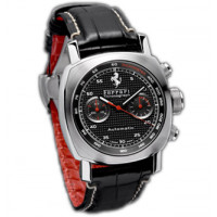 Officine Panerai watches Ferrari GT Chronograph (SS / Black / Leather)