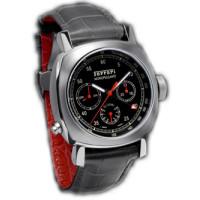 Officine Panerai watches Ferrari GT 8 Days Chrono Monopulsante GMT (SS / Black / Leather)
