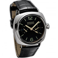 Officine Panerai watches Radomir Tourbillon GMT (Pt / Black / Leather)