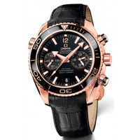 Omega watches Planet Ocean Ceragold