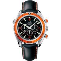Omega watches Omega  Planet Ocean Chronograph (Steel / Orange / Rubber)