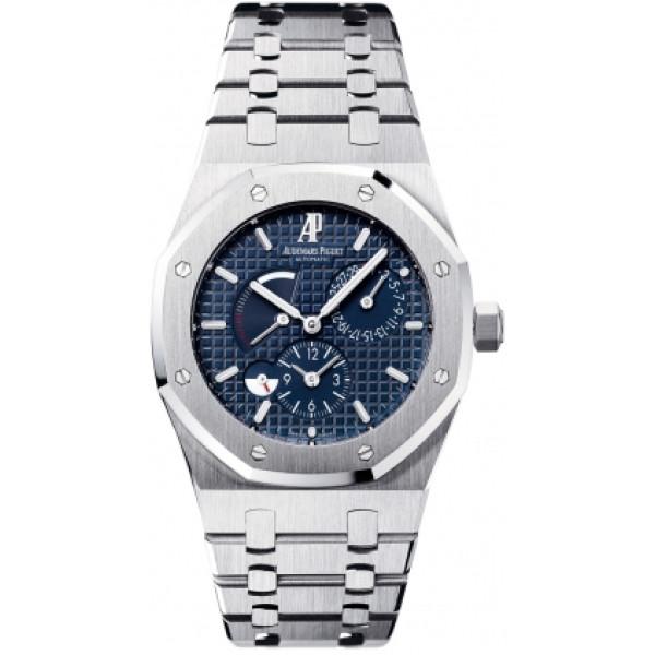 Audemars Piguet watches Royal Oak Dual Time (SS / Blue / SS)