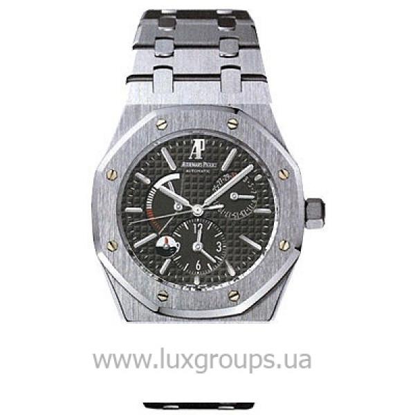 Audemars Piguet watches Royal Oak Dual Time (SS / Black / SS)