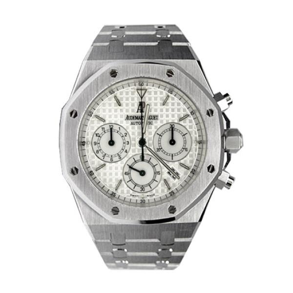 Audemars Piguet watches Royal Oak Chronograph (Steel / White / Steel)